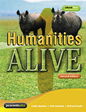 Humanities Alive 1 and eBookPlus, 2nd Edition (1742160654) cover image
