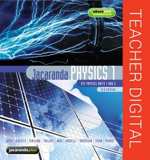 Jacaranda Physics 1 3E eGuidePLUS (Online Purchase)