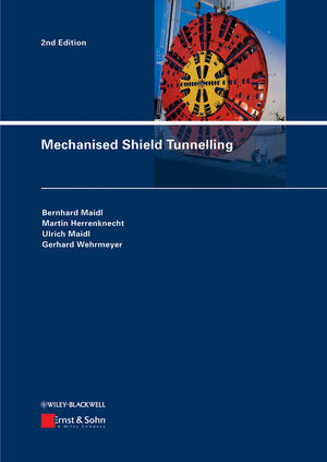 Mechanised Shield Tunnelling, 2nd Edition (3433029954) cover image