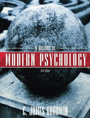 A History of Modern Psychology, 3rd Edition (EHEP000154) cover image