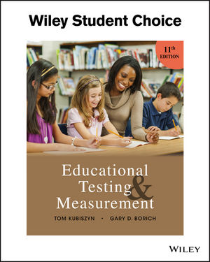 Educational Testing and Measurement, 11th Edition (EHEP003654) cover image