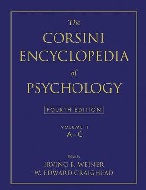 The Corsini Encyclopedia of Psychology, Volume 1, 4th Edition