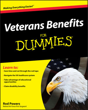 Veterans Benefits For Dummies (0470398655) cover image