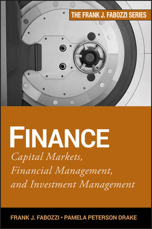 Finance: Capital Markets, Financial Management, and Investment Management (0470486155) cover image