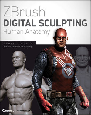 ZBrush Digital Sculpting Human Anatomy (0470599855) cover image