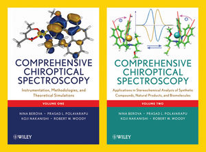 Comprehensive Chiroptical Spectroscopy, 2 Volume Set (0470641355) cover image