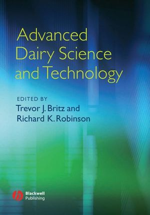 Advanced Dairy Science and Technology (0470698055) cover image