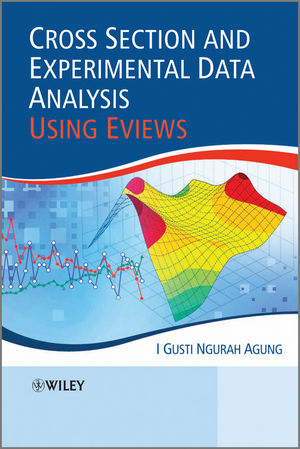 Cross Section and Experimental Data Analysis Using EViews (0470828455) cover image