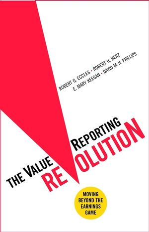 The ValueReporting Revolution: Moving Beyond the Earnings Game (0471046655) cover image