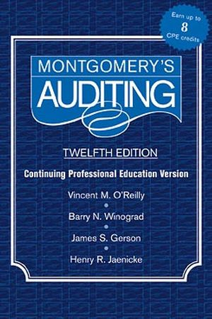 Montgomery Auditing Continuing Professional Education, 12th Edition