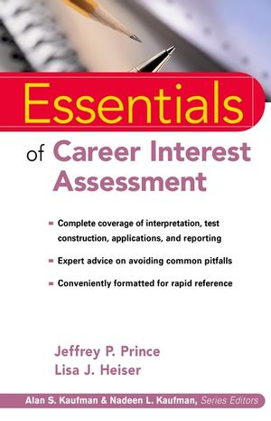 Essentials of Career Interest Assessment