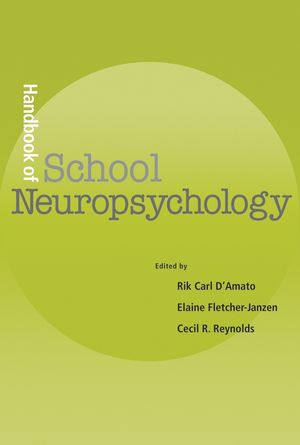 Handbook of School Neuropsychology (0471724955) cover image