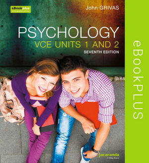 Psychology For The VCE Student 1&2 7E eBookPLUS (Online Purchase)