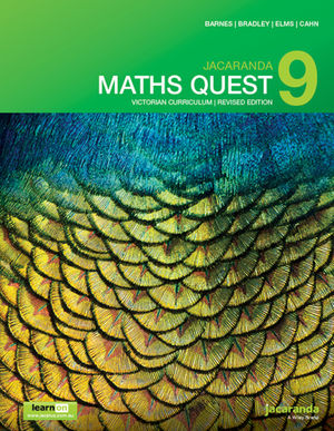 Jacaranda Maths Quest 9 Victorian Curriculum 1st Revised Edition learnON & Print