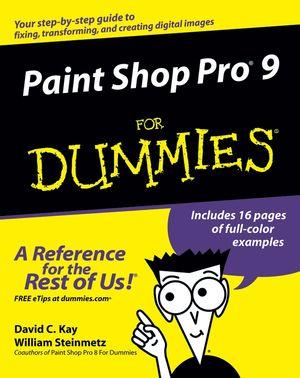 Paint Shop Pro 9 For Dummies (0764579355) cover image