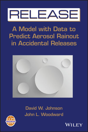 RELEASE: A Model with Data to Predict Aerosol Rainout in Accidental Releases