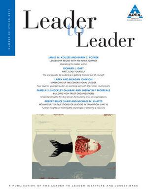 Leader to Leader (LTL), Volume 60, Spring 2011