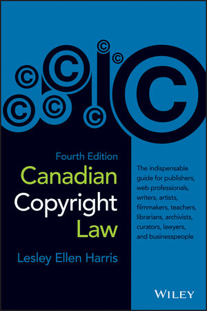 Canadian Copyright Law, 4th Edition (1118083555) cover image