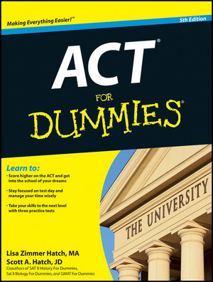 ACT For Dummies, 5th Edition (1118095855) cover image