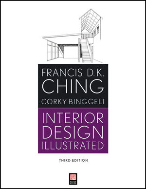 Interior Design Illustrated, 3rd Edition (1118175255) cover image