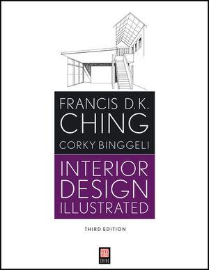 Interior Design Illustrated, 3rd Edition (1118175255) cover image