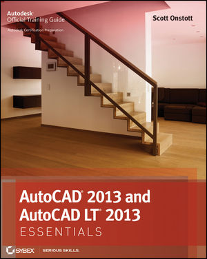 AutoCAD 2013 and AutoCAD LT 2013 Essentials (1118330455) cover image