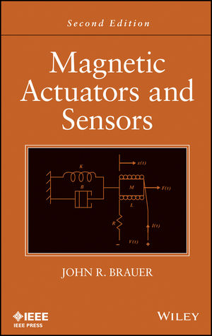 Magnetic Actuators and Sensors, 2nd Edition (1118505255) cover image