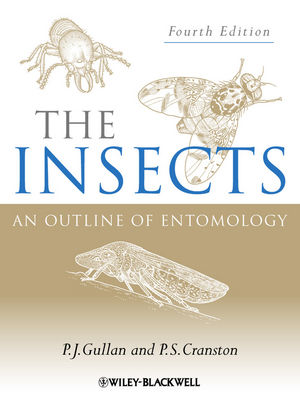 The Insects: An Outline of Entomology, 4th Edition (1118583655) cover image