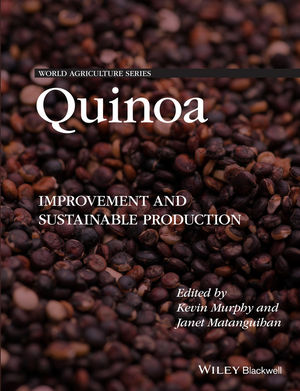 Quinoa: Improvement and Sustainable Production (1118628055) cover image