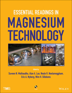 Essential Readings in Magnesium Technology (1118859855) cover image