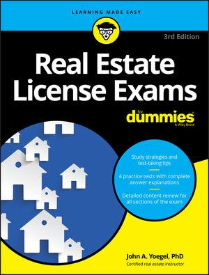 Real Estate License Exams For Dummies, 3rd Edition
