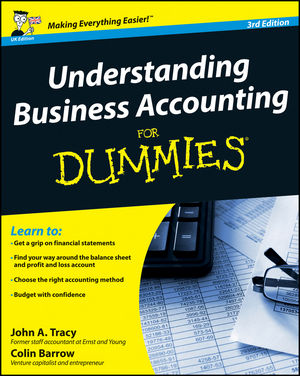 Understanding Business Accounting For Dummies, 3rd UK Edition (1119953855) cover image
