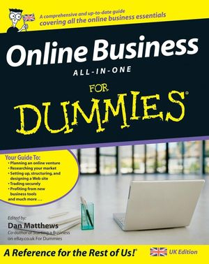 Online Business All-In-One For Dummies (1119998255) cover image