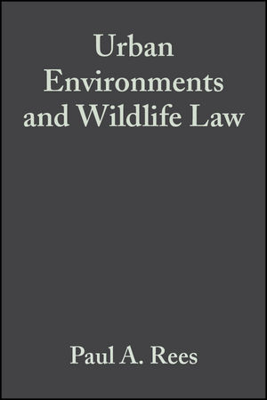 Urban Environments and Wildlife Law: A Manual for Sustainable Development (1405150955) cover image