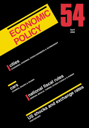 Economic Policy 54 (1405173955) cover image