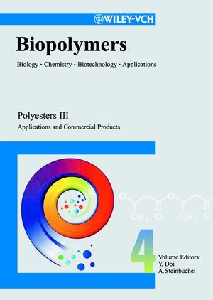 Biopolymers, Biology, <span class='search-highlight'>Chemistry</span>, Biotechnology, Applications, Volume 4, Polyesters III - Applications and Commercial Products
