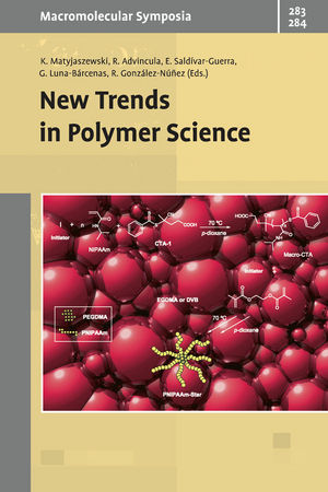 New Trends in Polymer Sciences (3527327355) cover image