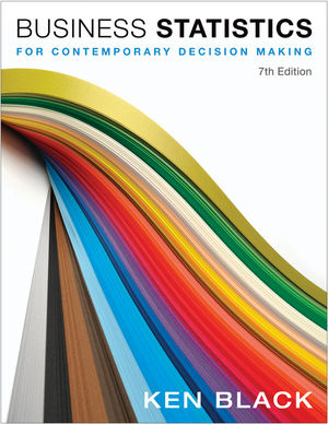 Business Statistics: For Contemporary Decision Making, 7th Edition (EHEP002055) cover image