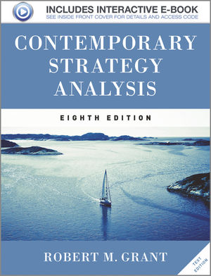 Contemporary Strategy Analysis, 8th Edition (EHEP002655) cover image