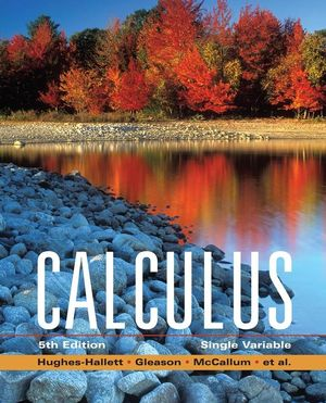 Calculus: Single Variable, 5th Edition