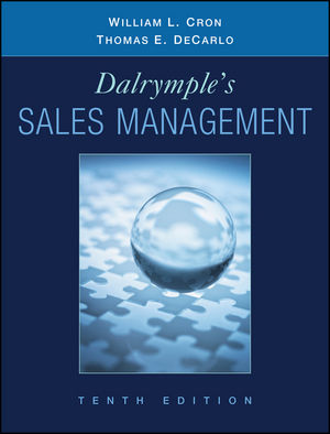 Dalrymple's Sales Management: Concepts and Cases, 10th Edition