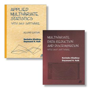 Applied Multivariate Statistics With SAS Software, Second Edition + Multivariate Data Reduction and Discrimination with SAS Software Set (0470388056) cover image