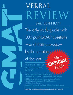 The Official Guide for GMAT Verbal Review, 2nd Edition (0470449756) cover image