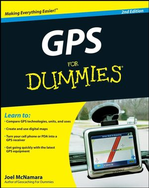 GPS For Dummies, 2nd Edition (0470457856) cover image