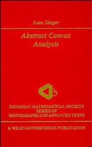 Abstract Convex Analysis (0471160156) cover image