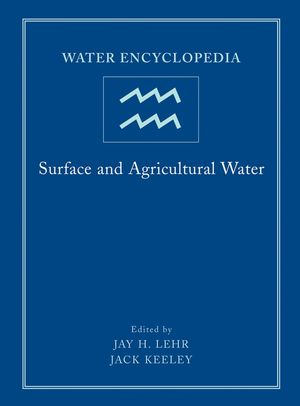 Water Encyclopedia, Volume 3, Surface and Agricultural Water