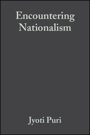 Encountering Nationalism (0631231056) cover image