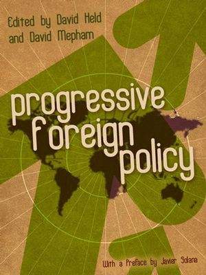 Progressive Foreign Policy (0745641156) cover image