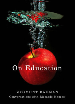 On Education: Conversations with Riccardo Mazzeo (0745661556) cover image