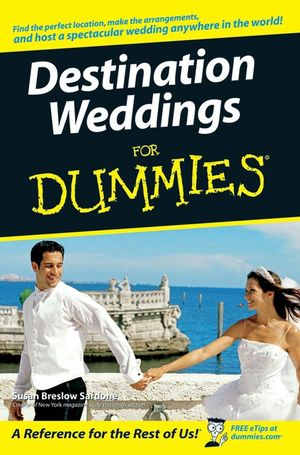 Destination Weddings For Dummies (1118052056) cover image